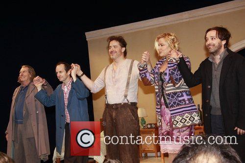 Richard Easton, Brendan Fraser, Ethel Barrymore and Jennifer Coolidge 1