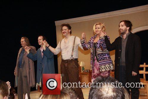 Richard Easton, Brendan Fraser, Ethel Barrymore and Jennifer Coolidge 6