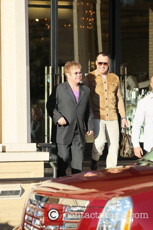 Elton John and David Furnish 8