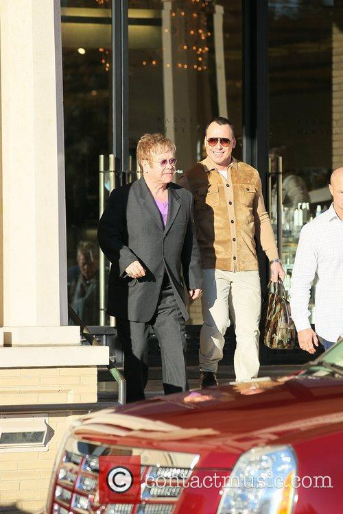 Elton John and David Furnish 6