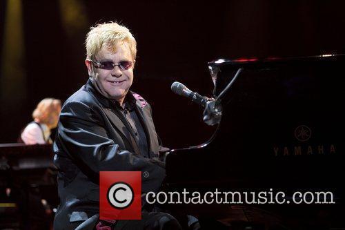 Elton John  performs live in concert at...