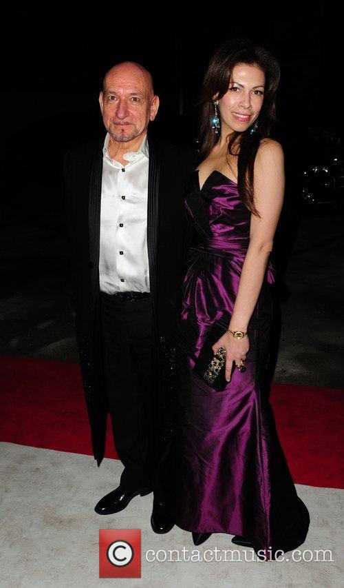 Ben Kingsley and Daniela Lavender Elton John Aids...