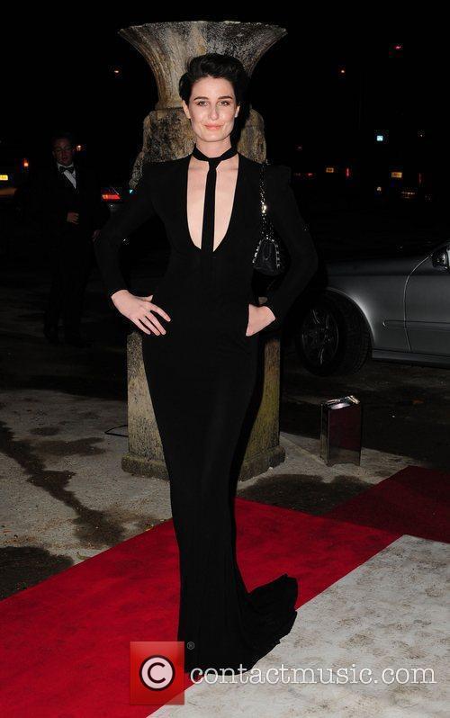 Erin O'Connor Elton John Aids Foundation Ball -...