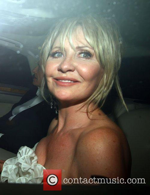 Lulu  Celebrities leaving Elton John's White Tie...