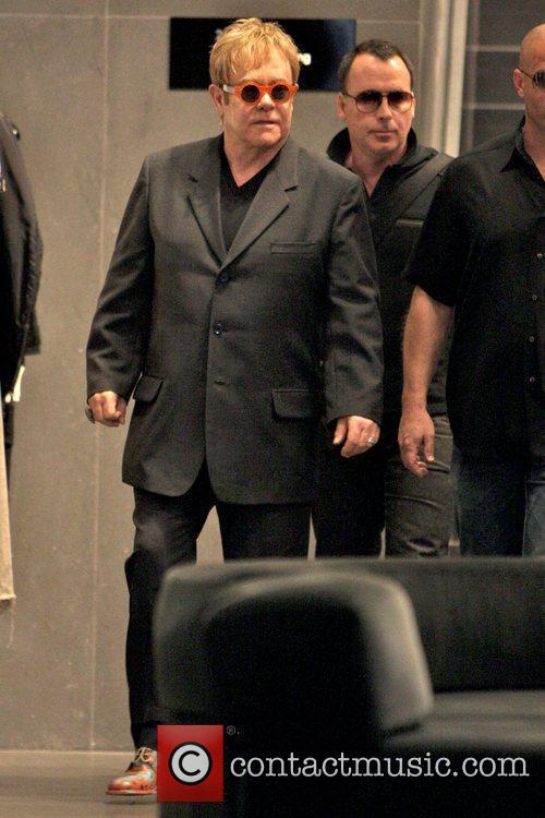 Elton John and Husband David Furnish 5