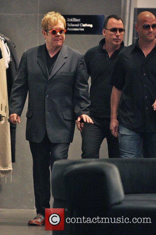 Elton John, husband David Furnish