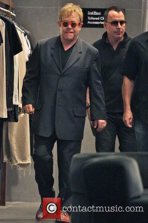 Elton John and Husband David Furnish 1