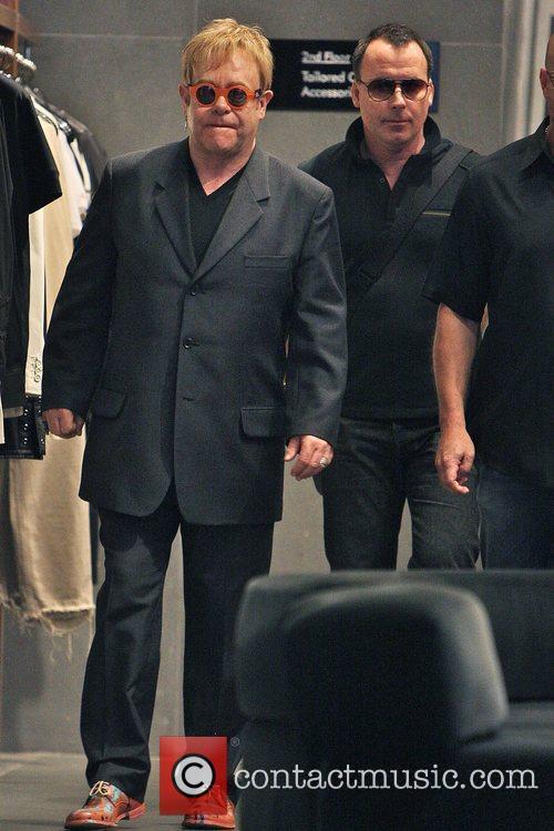 Elton John and husband David Furnish 12