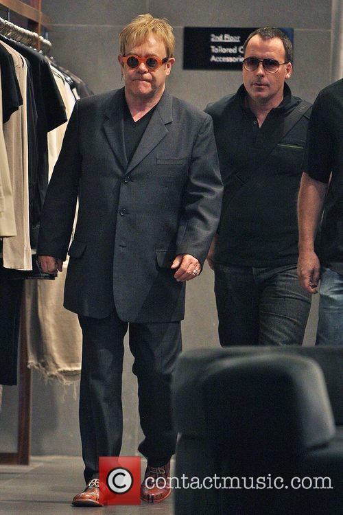 Elton John and husband David Furnish 13