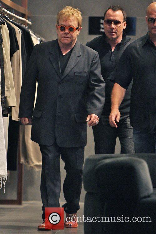 Elton John and husband David Furnish 20