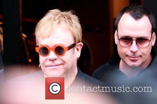 Elton John and husband David Furnish 22
