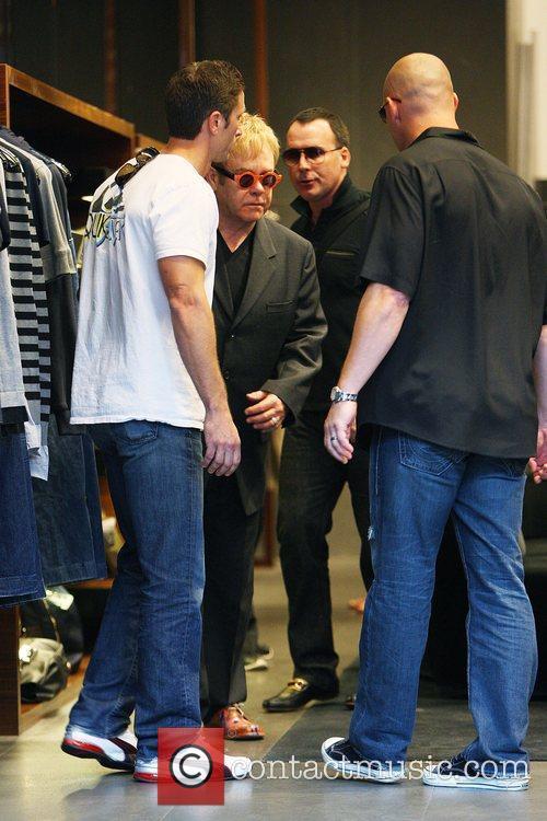 Elton John and David Furnish 5