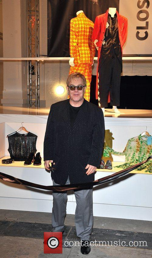 Elton John  The launch of 'Out the...