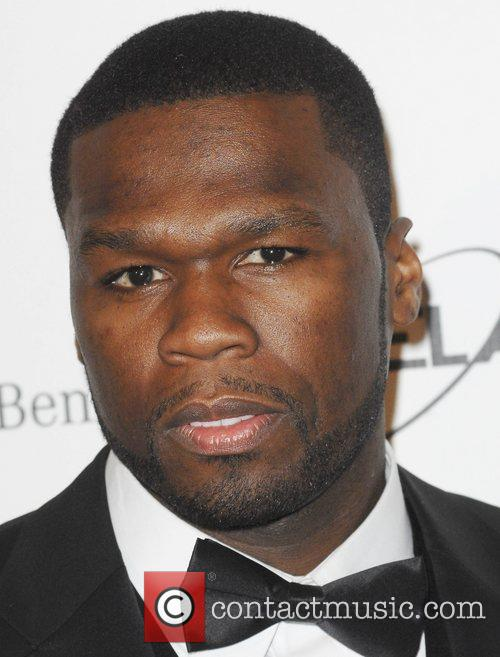 50 Cent and Wallis Annenberg 11