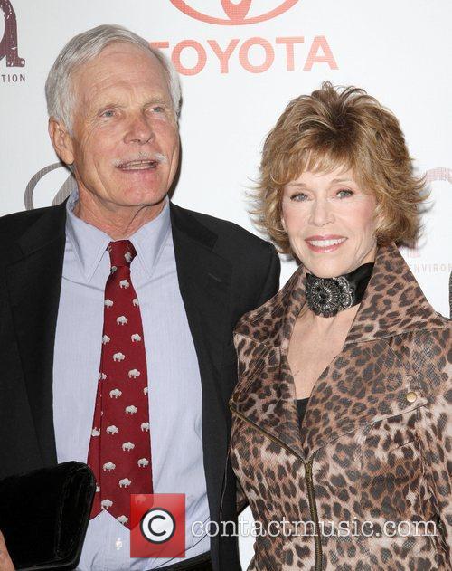 Ted Turner and Jane Fonda  20th Annual...