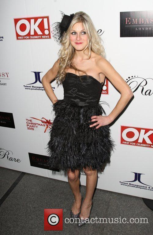 Nikki Grahame,  at the Christmas party held...