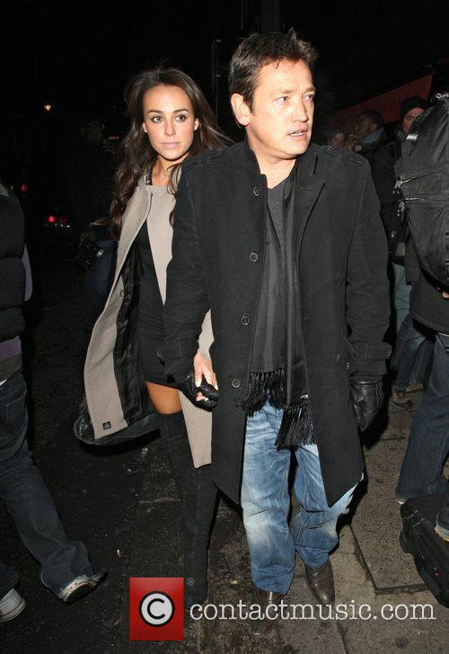 Sid Owen and Polly Parsons,  at the...