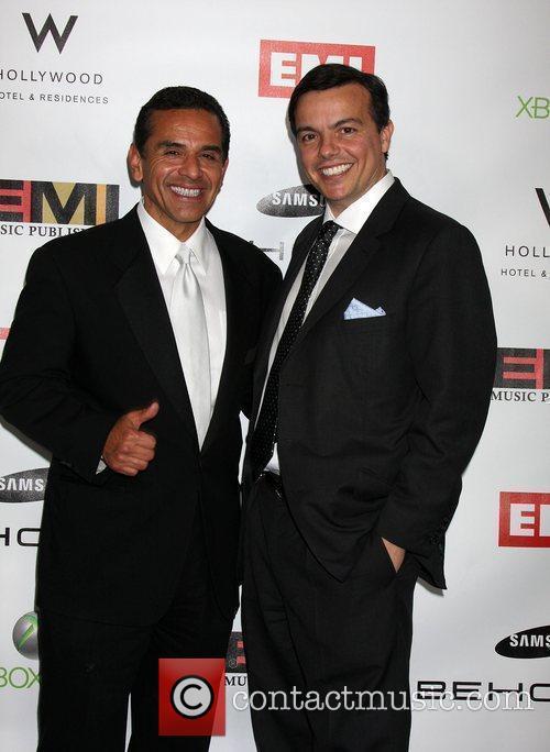 Antonio R. Villaraigosa and Elio Leoni-Sceti The EMI...