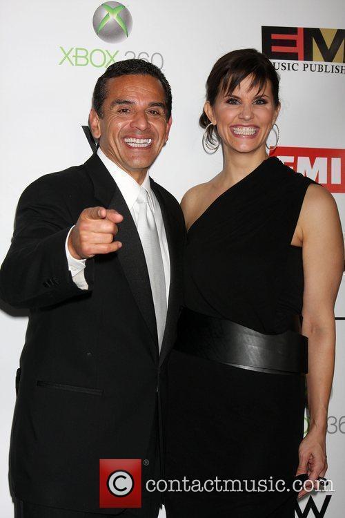 Antonio R. Villaraigosa and Lu Parker The EMI...