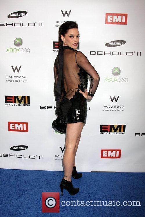 Jessica Sutta The EMI Post Grammy Party 2010...