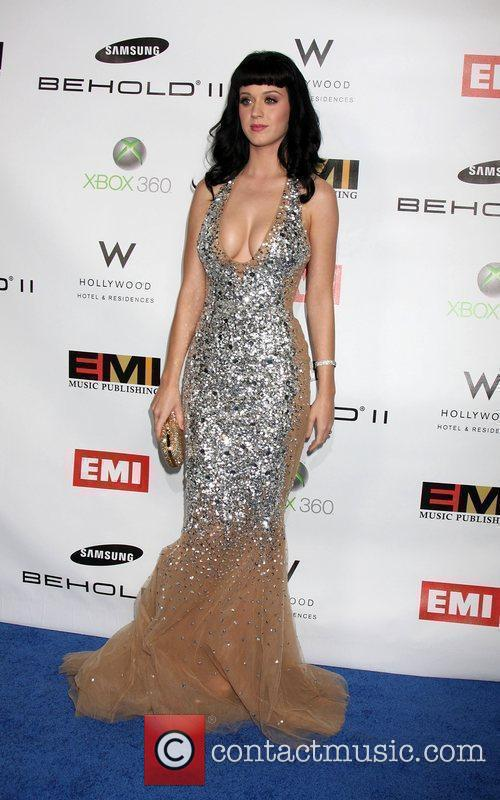 Katy Perry  The EMI Post Grammy Party...