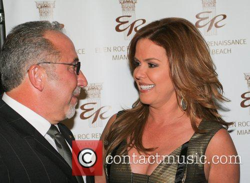 Emilio Estefan and Maria Celeste Arraras 9