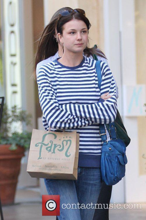 Brothers and Sisters star, Emily VanCamp, out shopping...