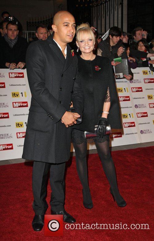 *file photos* Emma Bunton has announced her engagement...