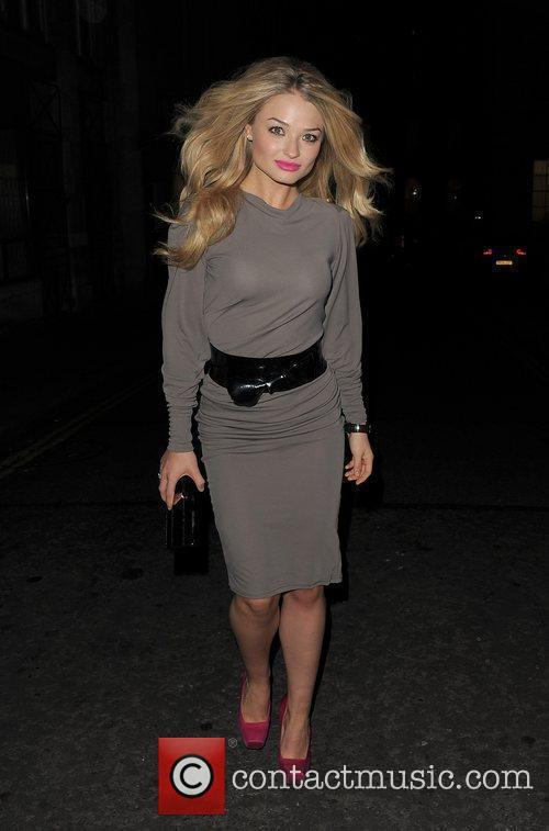 Former Hollyoaks star Emma Rigby leaves the Trafalgar...