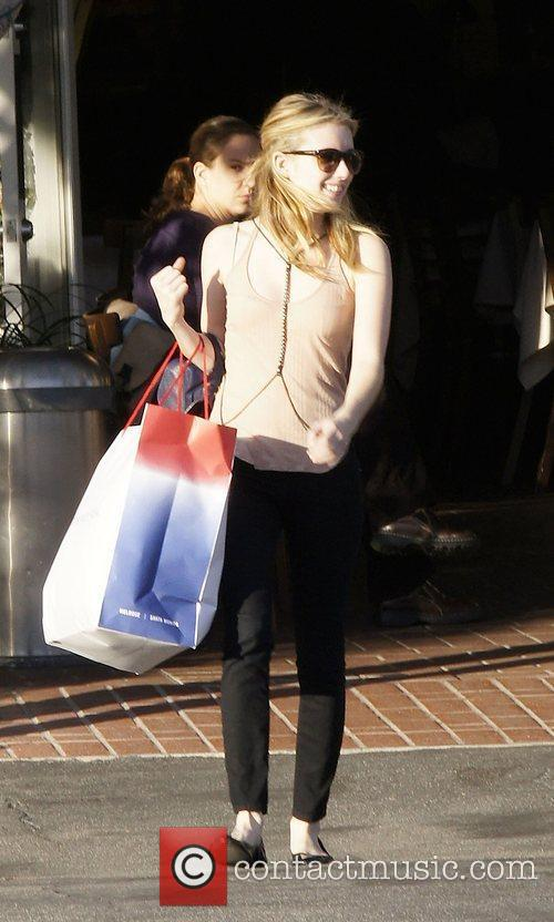 Emma Roberts and Fred Segal 5