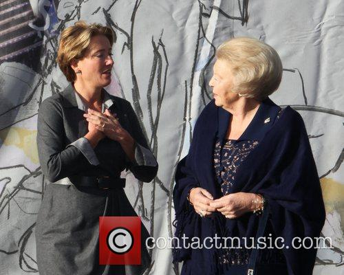 Emma Thompson, Journey and Queen Beatrix 4