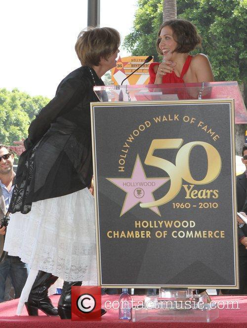 Emma Thompson, Maggie Gyllenhaal, Star On The Hollywood Walk Of Fame