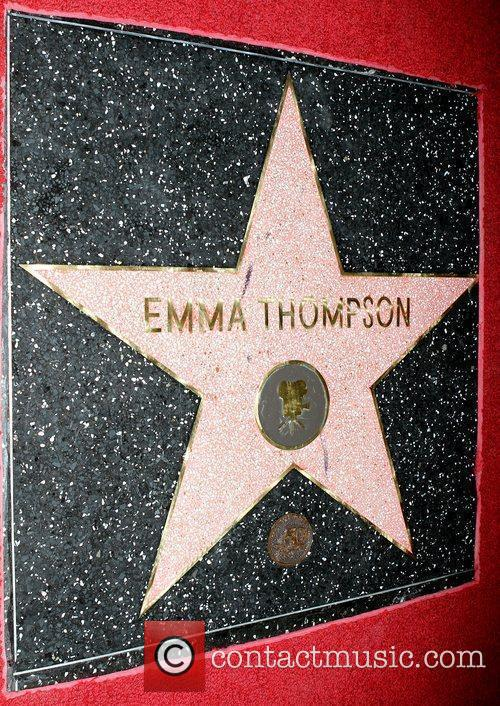 Emma Thompson is honoured with the 2,416th star...