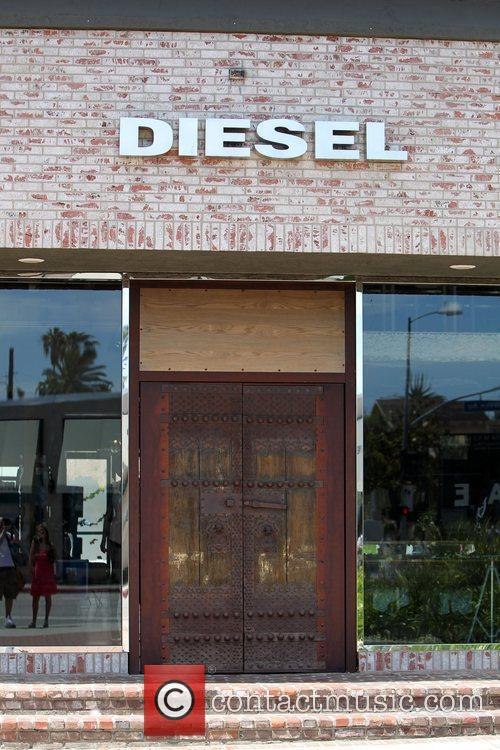 Melrose Place Diesel Store exterior Los Angeles, California