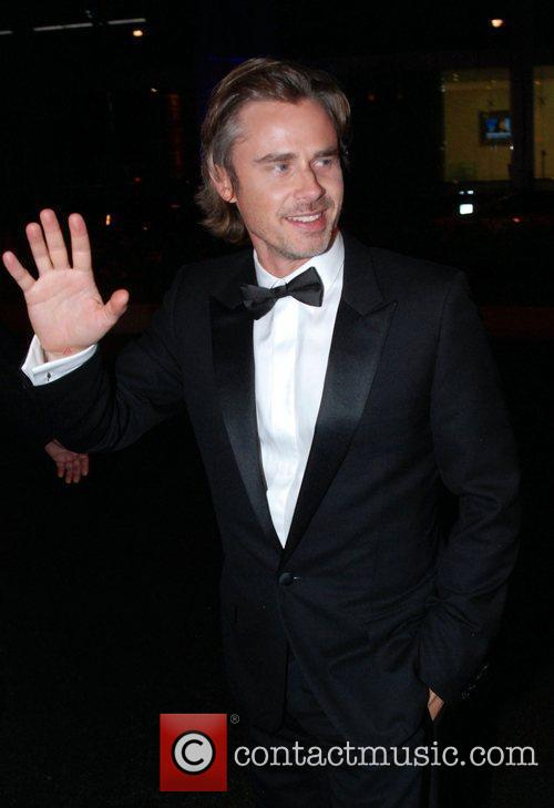 Outside the Trousdale nightclub for an Emmy Awards...