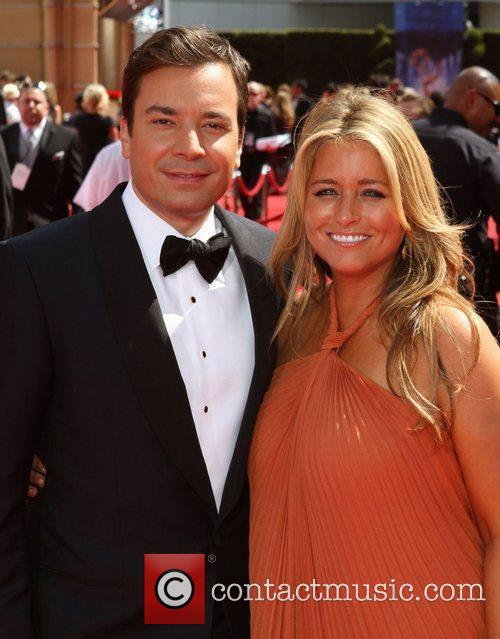 Jimmy Fallon and Nancy Juvonen 11