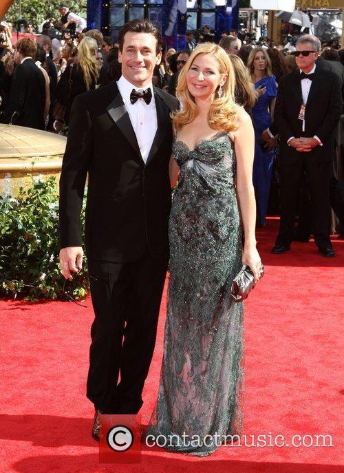 Jon Hamm, Jennifer Westfeld and Jon Hamm 2