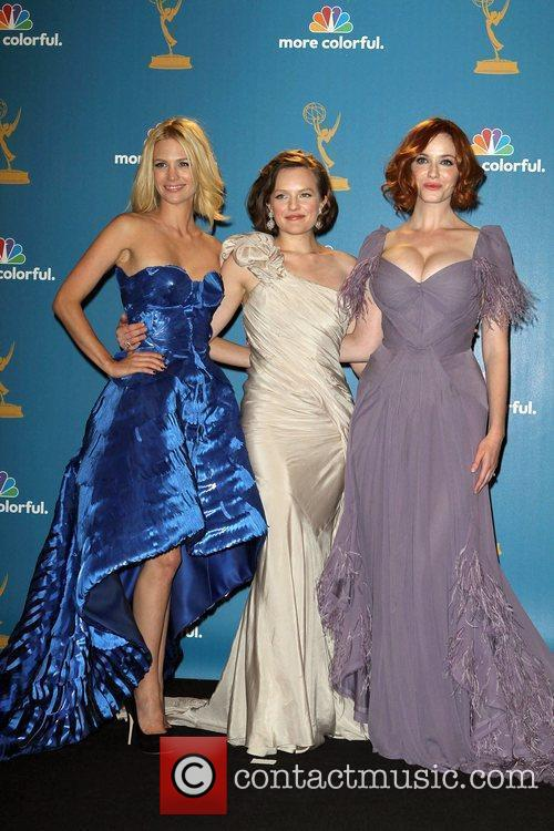 January Jones, Christina Hendricks and Elizabeth Moss 1