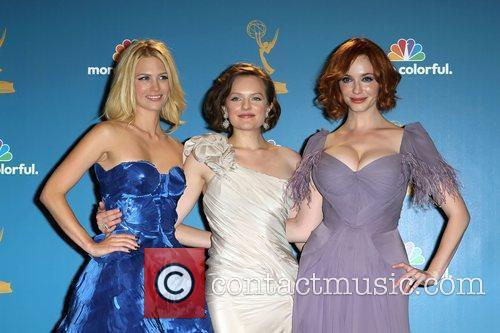 January Jones, Christina Hendricks and Elizabeth Moss 3