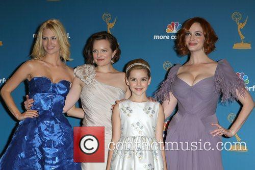 January Jones, Christina Hendricks, Elizabeth Moss, Emmy Awards, Primetime Emmy Awards
