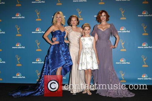January Jones, Christina Hendricks and Elizabeth Moss 2