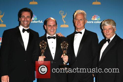 Jon Hamm, John Slattery and Robert Morse 1
