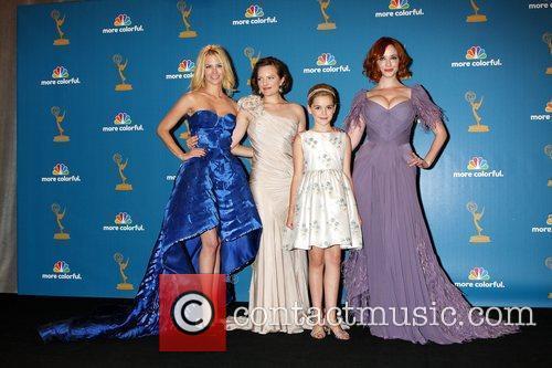 January Jones, Christina Hendricks, Elisabeth Moss and Kiernan Shipka 5