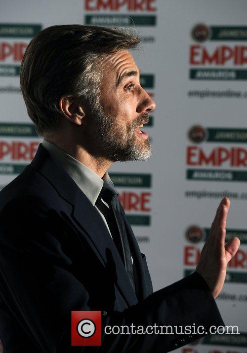 Christoph Waltz Jameson Empire Film Awards held at...