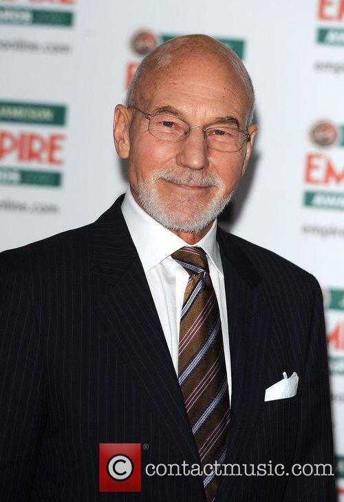 Patrick Stewart Jameson Empire Film Awards held at...