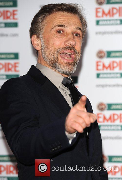 Christoph Waltz The Jameson Empire Film Awards held...