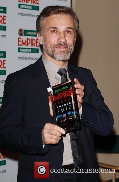 Christoph Waltz winner of Best Actor The Empire...