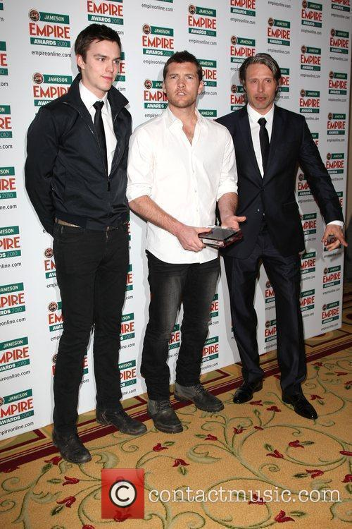Nicholas Hoult, Mads Mikkelsen and Sam Worthington 4