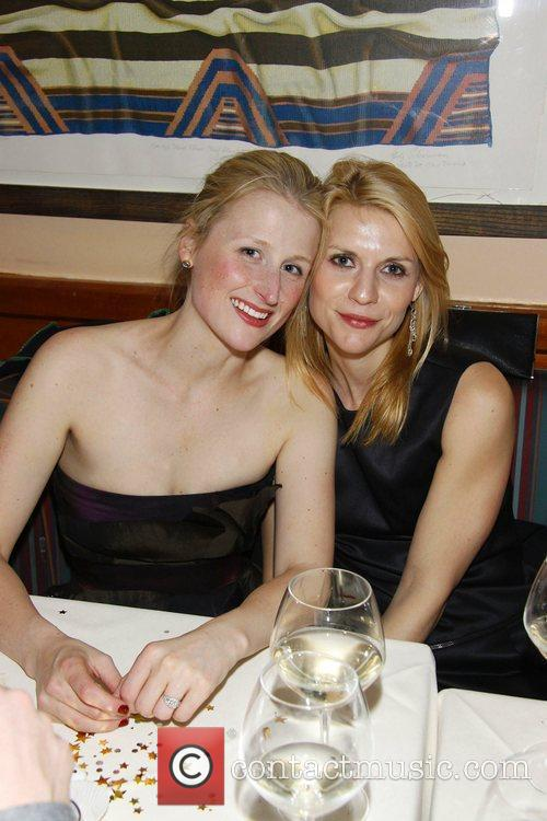 Mamie Gummer and Claire Danes The opening night...