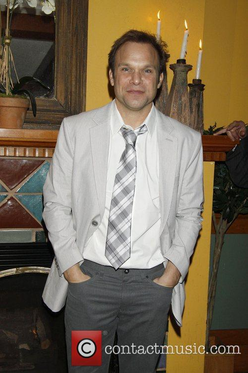 Norbert Leo Butz The opening night after party...